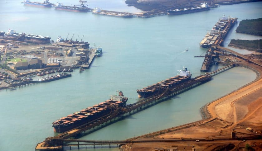Tour of Fortescue Mining Group's Solomon Hub, Port Hedland Rail and Herb Elliott Port