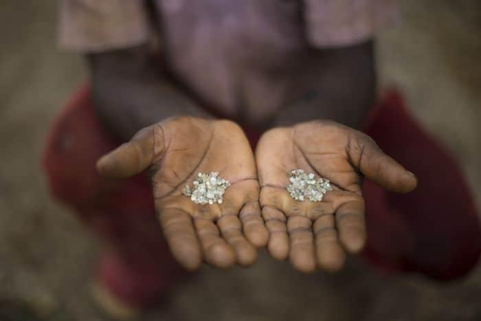 El primer diamante en esta zona se encontró hace 300 años. Foto: AP