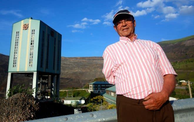 Arturo Fernández, uno de los vigilantes de seguridad