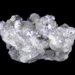 Calaverita con Fluorita en Cuarzo