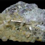 Cristal alargado de Calaverita