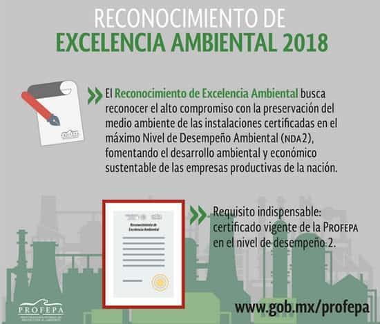 Excelencia ambiental 2018