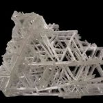 Cristales de Snoflake Cerusita reticulada