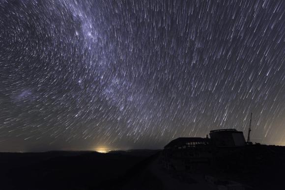 Sitio de construcción de LSST en Chile