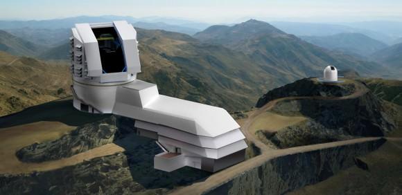 Imagen de El Gran Telescopio de Levantamiento Sinóptico