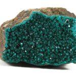 Cristales de dioptasa