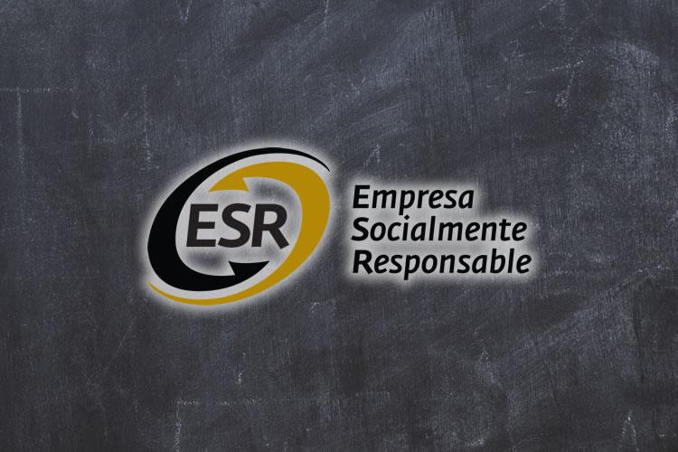 Logo Empresas Socialmente Responsables en fondo Negro