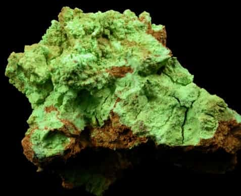 gaspeita verde brillante