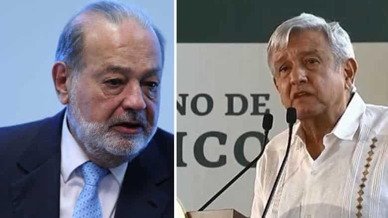 AMLO en Chihuahua pide a Slim