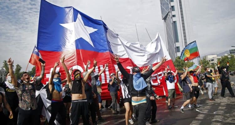 protesta Chile 2019