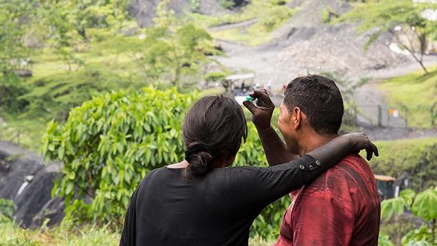 Minería de esmeralda en Colombia