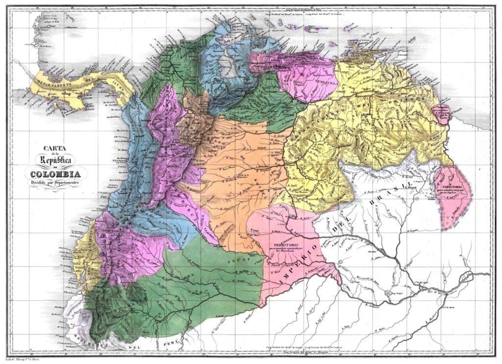 principales territorios mineros de esmeraldas ubicados a las afueras de Bogotá.