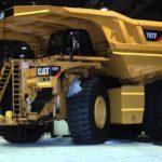 Caterpillar-797F1. Uno de los camiones más grandes del mundo