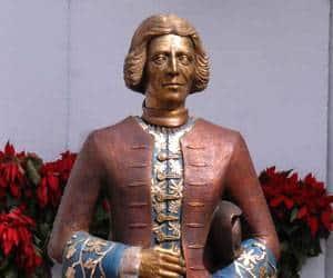 Estatua de José de la Borda