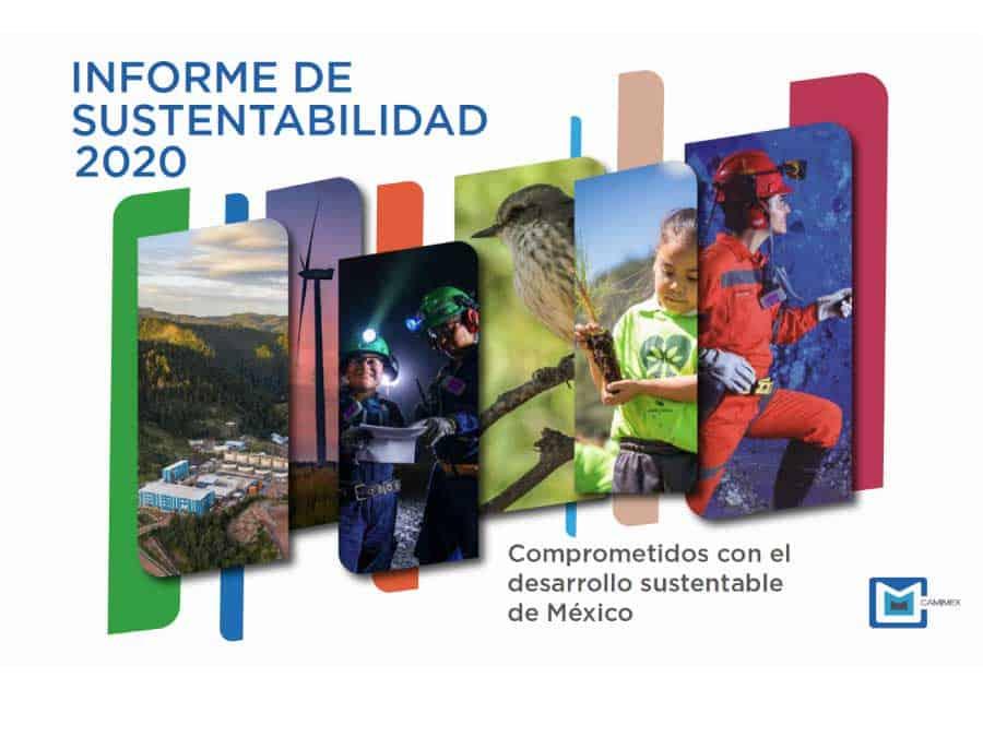 Caratula del Informe de sustentabilidad 2020