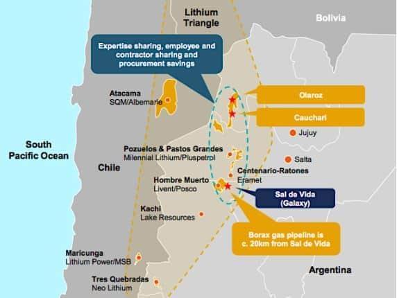 Las mineras australianas de litio Orocobre y Galaxy se fusionarán en un  acuerdo de $ 3 mil millones | Minería en Línea