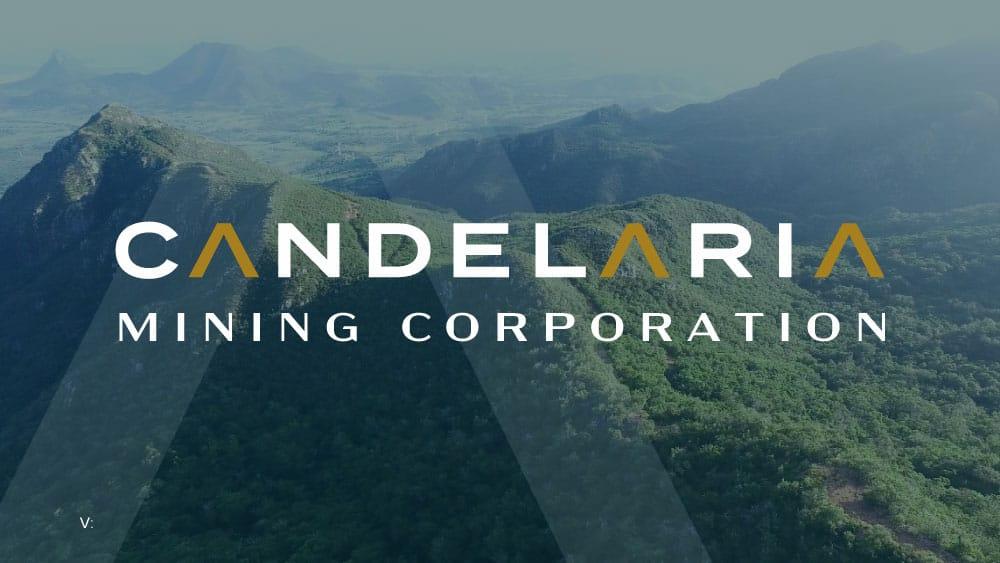 Candelaria Mining Logo y fondo